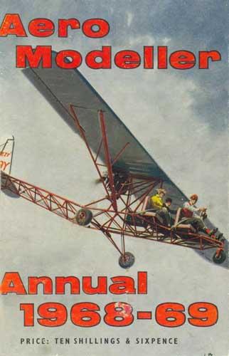 AeroModeller Annual 1968-69 - cover thumbnail