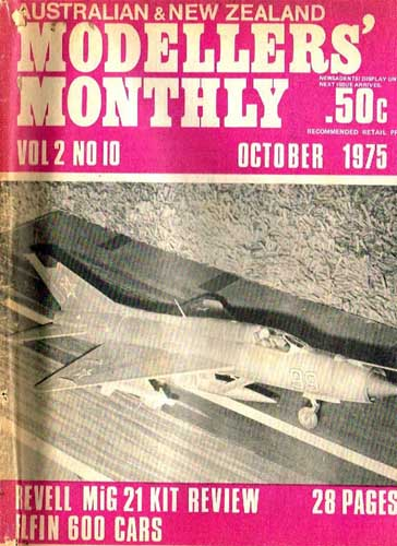 Australian & New Zealand Modellers' Monthly 1975/10 October  - click to view RCLibrary page