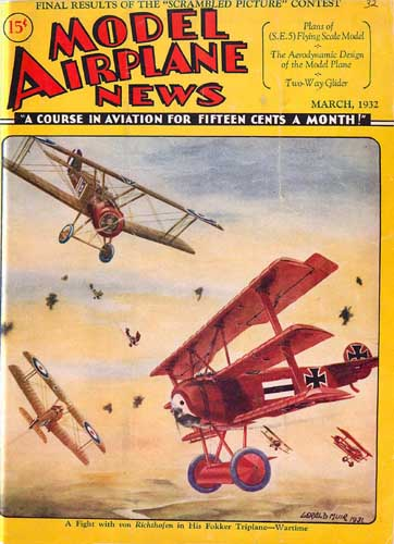 Model Airplane News 1932/03 March  - click to view RCLibrary page