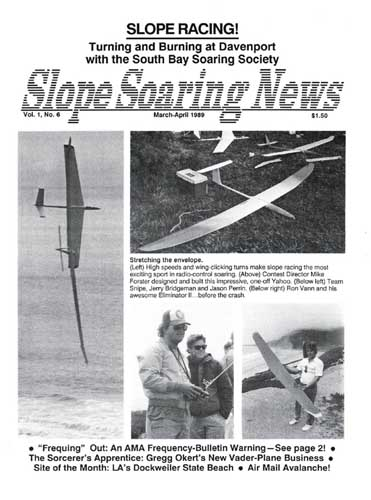 Slope Soaring News 1989/03 March-April