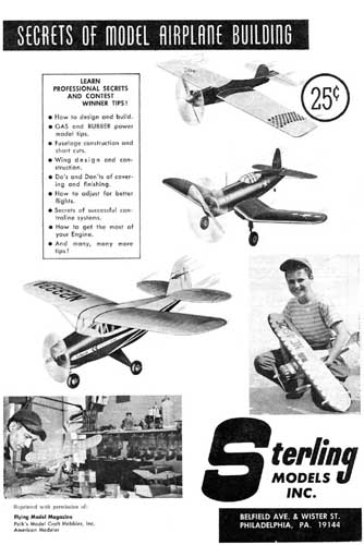 Secrets of Model Airplane Building