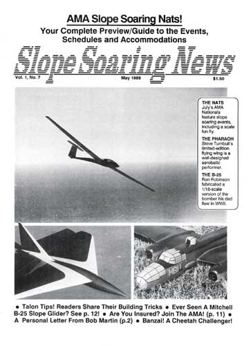 Slope Soaring News 1989/05 May