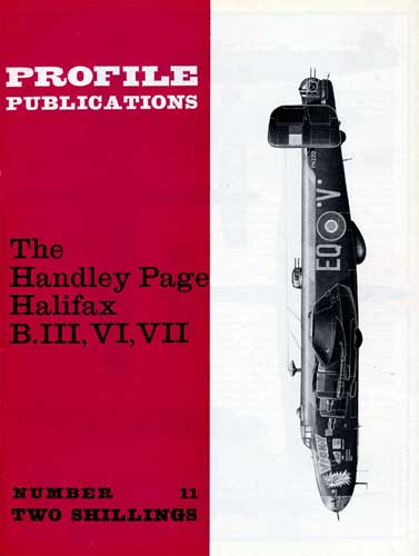 Profile Publications No. 011: Handley Page Halifax B.III, VI, VII (RCL#1665)