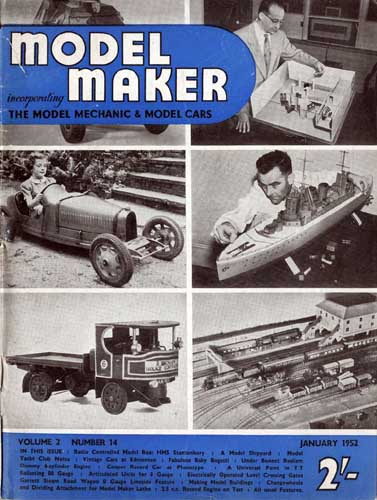 Model Maker 1952/01 January  - click to view RCLibrary page