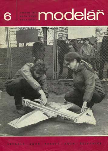 Model�ř/ Modelar 1972/06 June  - click to view RCLibrary page