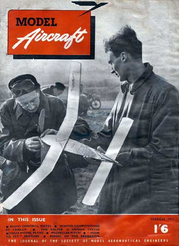 Model Aircraft 1951/03 March (RCL#1684)