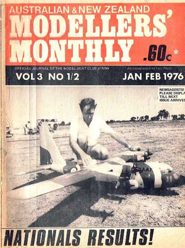 Modellers' Monthly 1976/01 January/ February - cover thumbnail