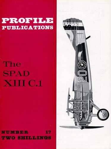 Profile Publications No. 017: SPAD XIII C.1 - cover thumbnail