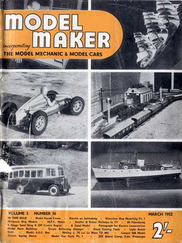 Model Maker 1952/03 March - cover thumbnail