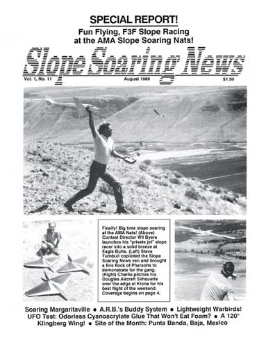 Slope Soaring News 1989/08 August