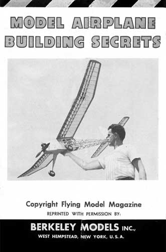 Model Airplane Building Secrets - cover thumbnail