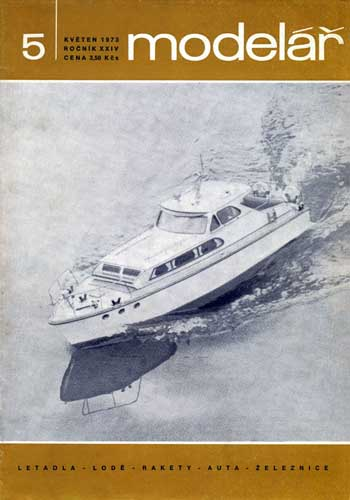 Model�ř/ Modelar 1973/05 May  - click to view RCLibrary page