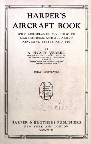 Harper's Aircraft Book  - click to view RCLibrary page
