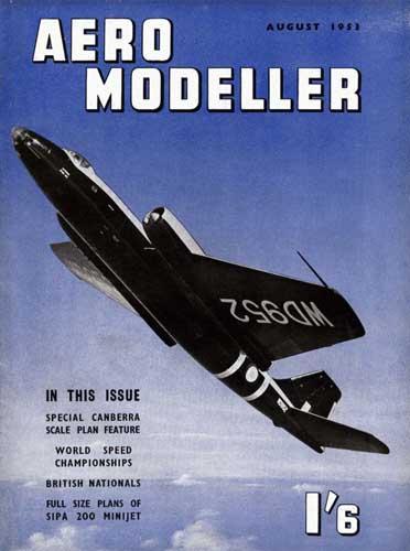 AeroModeller 1953/08 August (RCL#1738)