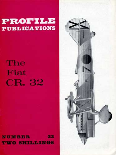Profile Publications No. 022: Fiat CR. 32 - cover thumbnail