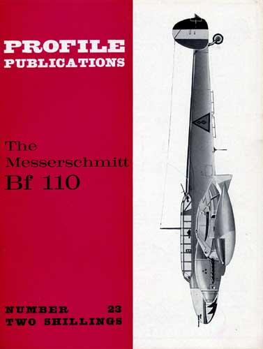 Profile Publications No. 023: Messerschmitt Bf 110 (RCL#1749)