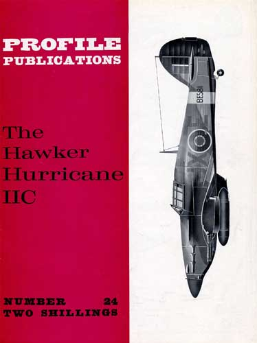 Profile Publications No. 024: Hawker Hurricane IIC - click to view RCLibrary page