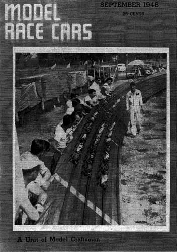 Model Race Cars 1948/09 September - click to view RCLibrary page