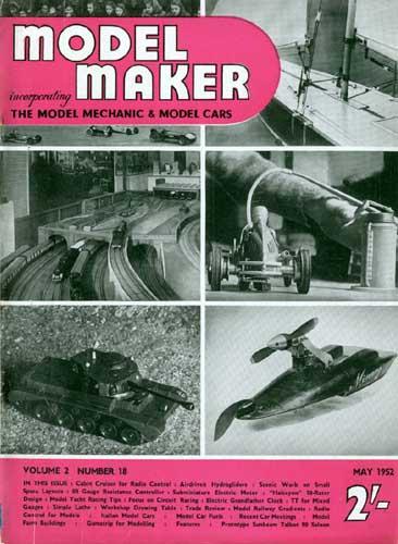 Model Maker 1952/05 May (RCL#1762)