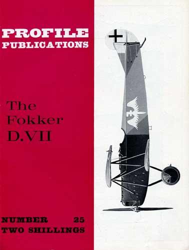 Profile Publications No. 025: Fokker D.VII (RCL#1763)