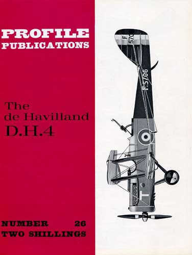 Profile Publications No. 026: De Havilland D.H.4. - cover thumbnail