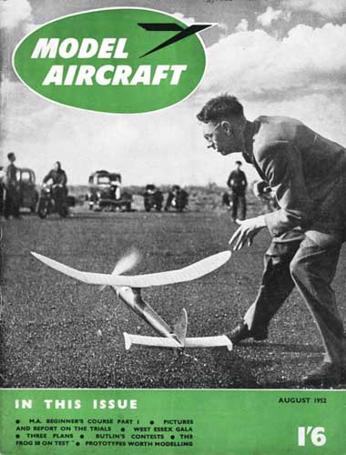 Model Aircraft 1952/08 August - cover thumbnail