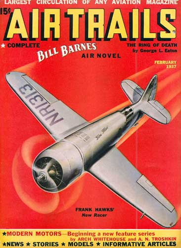 Air Trails 1937/02 February - cover thumbnail