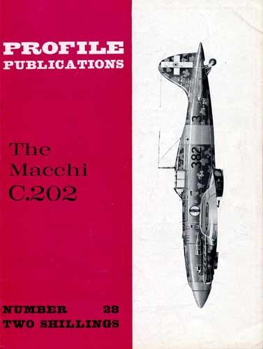 Profile Publications No. 028: Macchi C.202 - cover thumbnail