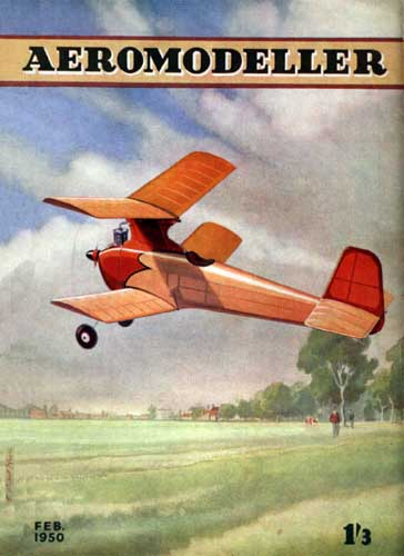 AeroModeller 1950/02 February - click to view RCLibrary page