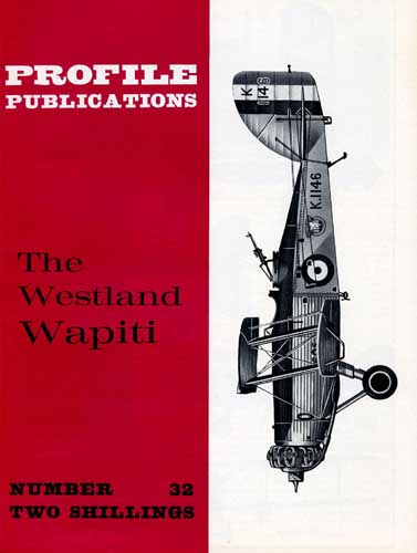 Profile Publications No. 032: Westland Wapiti - cover thumbnail