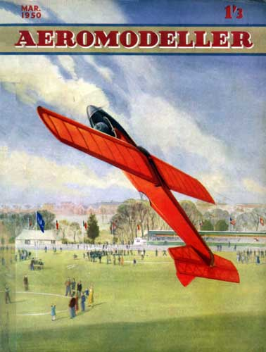 AeroModeller 1950/03 March - cover thumbnail
