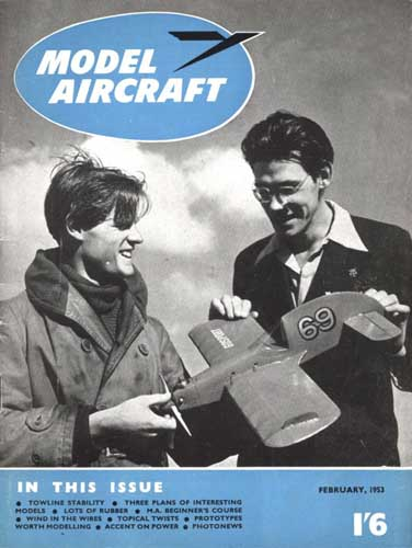 Model Aircraft 1953/02 February - click to view RCLibrary page