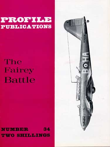Profile Publications No. 034: Fairey Battle (RCL#1826)