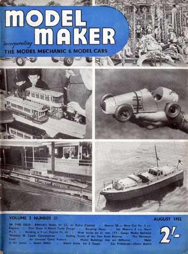 Model Maker 1952/08 August (RCL#1832)