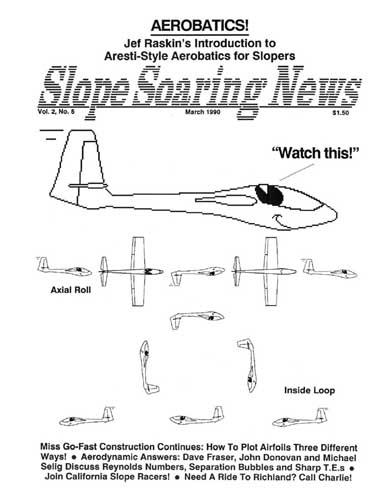 Slope Soaring News 1990/03 March