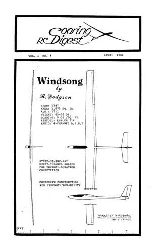 RC Soaring Digest 1984/04 April (RCL#1843)