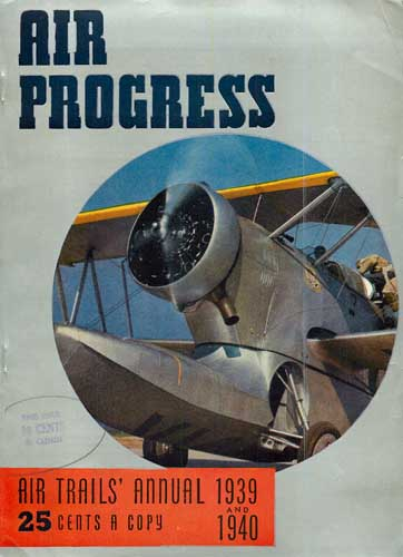 Air Progress, Air Trails Annual 1939 & 1940 - click to view RCLibrary page