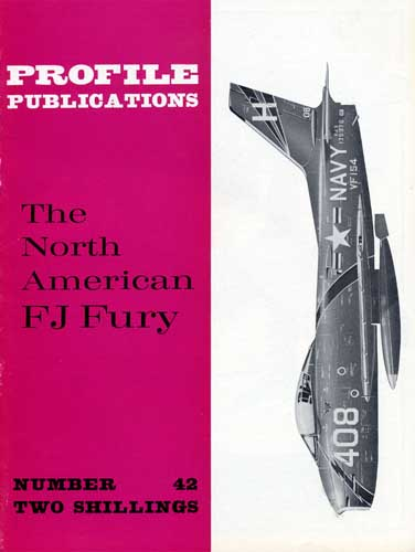 Profile Publications No. 042: North American FJ Fury (RCL#1882)