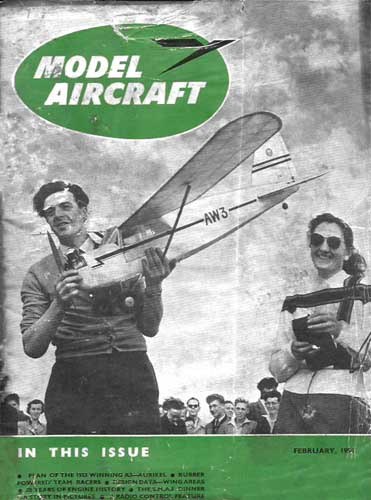 Model Aircraft 1954/02 February - cover thumbnail