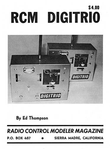 RCM Digitrio Manual