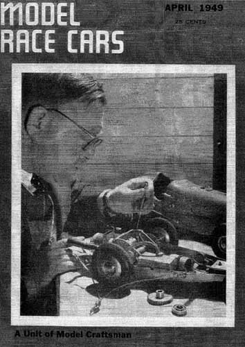 Model Race Cars 1949/04 April - click to view RCLibrary page