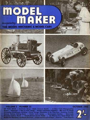 Model Maker 1952/10 October (RCL#1953)