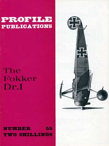Profile Publications No. 055: Fokker Dr.I - click to view RCLibrary page
