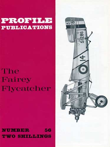 Profile Publications No. 056: Fairey Flycatcher