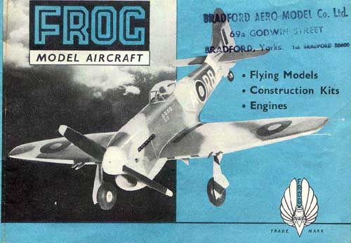 Frog Model Aircraft Catalogue