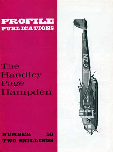 Profile Publications No. 058: Handley Page Hampden (RCL#1994)