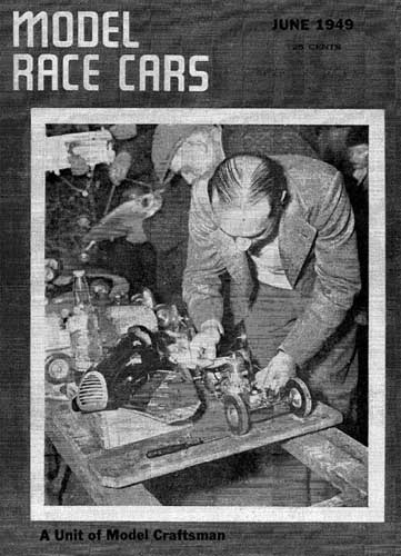 Model Race Cars 1949/06 June - click to view RCLibrary page