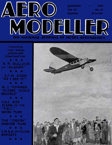 AeroModeller 1939/01 January (RCL#1998)