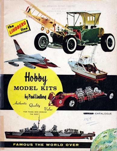 Lindberg Hobby Model Kits - cover thumbnail