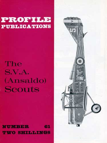Profile Publications No. 061: SVA (Ansaldo) Scouts
